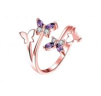 Charm Butterflies čaroben prstan