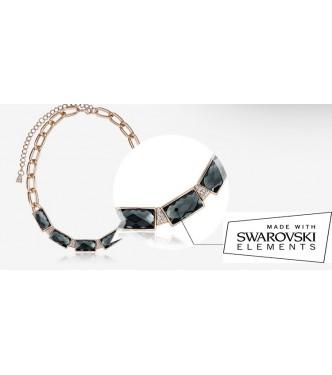 Glamurozna, izjemno modna ogrlica s kristali Swarovski elements
