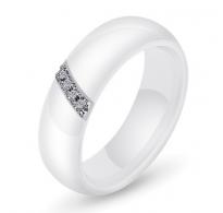 Preprosto eleganten prstan iz keramike