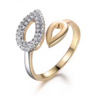 Izjemno ličen nastavljiv prstan