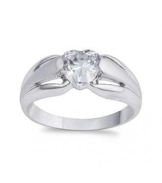 Čudovit srebrn prstan