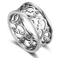Ljubek srebrn prstan, kot iz pravljice