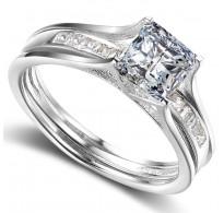 Izjemen prstan bogatega dizajna, dva v enem