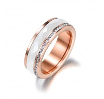 """Čeden prstan """"Nika"""" - rose gold"""