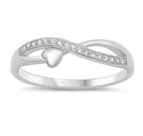 Čaroben srebrn prstan večne ljubezni