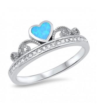 Čudovit srebrn prstan za prave princese