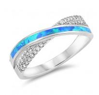Prelesten srebrn prstan izjemnega dizajna