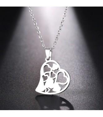 Igriv in romantičen obesek oblike srca