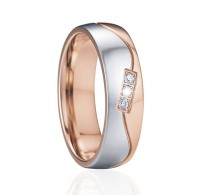 """Izjemno lep prstan z rose gold pozlato """"Sofija"""""""