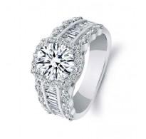 Baročno obogaten prstan