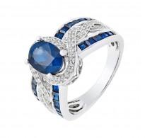 Božanski prstan s kraljevimi kristali