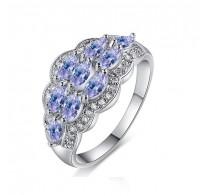 Boemsko zasanjan prstan s kristali