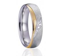 """Eleganten zaročni prstan iz nerjavečega jekla """"Angelina"""""""