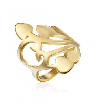 Pravljičen prstan iz nerjavečega jekla