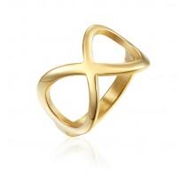 """Eleganten prstan iz nerjavečega jekla """"Infinity"""""""