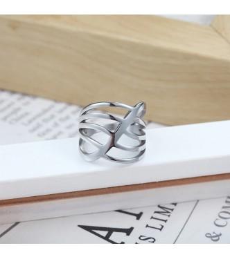 """Zanimivo prepletajoč prstan """"Noemi"""""""