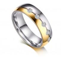 Prstan s kristali Promise
