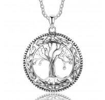 Obesek 925 srebro, drevo življenja