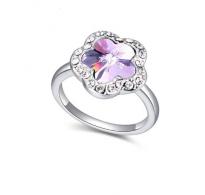 """Prikupen prstan s kristalom Swarovski elements """" Vitrail Light"""""""