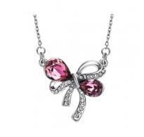 Ogrlica, ljubek dizajn s kristali Swarovski elements